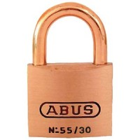 Abus Locks, Padlock Brass 1-1/4