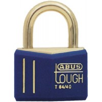 Abus Locks, Solid Brass Padlock w/Cover, 85611