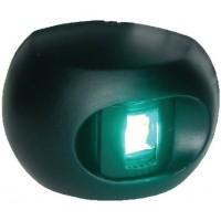Aqua Signal, LED Starboard Side Mount Black, 342027