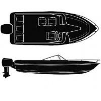 Attwood, Polyester V-Hull O/B 20'-96I, 10162