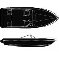 Attwood, Polyester V-Hull I/B 22'-96I, 10168