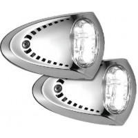 Attwood, Stainless LED Docking Lights, 6522SS7