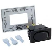 Attwood, 3-Way Bilge Pump Switch, 7615A3