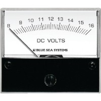 Blue Sea, Voltmeter Analog 8-16 VAC, 8003