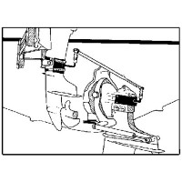 EZ Steer, Outboard To Sterndrive Auxiliary Motor Steering Kit, Alpha I, EZ30002
