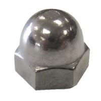 Handiman, 1/4-20 Cap Nut SS, 004