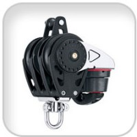 Harken, 57mm Triple Carbo Ratchamatic w/Cam & Becket, 2630
