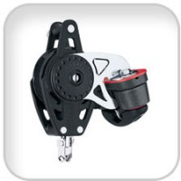 Harken, 75mm Carbo Ratchamatic w/Cam & Becket, 2684