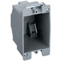 Hubbell, Plastic Switch/Outlet Box, HBL6079