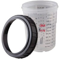 3M Marine, Pps Large Cup & Collar 1/Bx, 16023