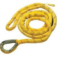 New England Ropes Inc, Braided Nylon/Polyester Mooring Pendant 5/8