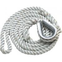 New England Ropes Inc, 3-Strand Mooring Pendant 5/8