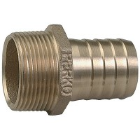 Perko, 1/2 Pipe To Hose Adapter, 0076DP4PLB