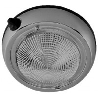 Perko, 4 Surface Mount Dome Light (1), 0300DP1CHR