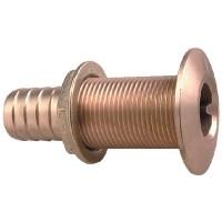 Perko, Thruhull Connector 1-1/8 Bronze, 035006ADPP
