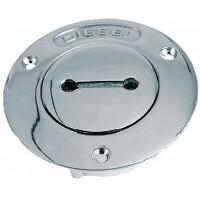 Perko, 1 1/2 Gas Pipe Deck Plate, 0528DPGCHR