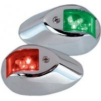 Perko, L.E.D.12V Chrome Sidelights Pr, 0602DP1CHR