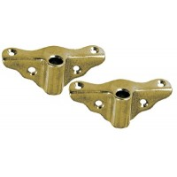Perko, Rowlock Socket Bronze Edge Mount, 0833DP0PLB