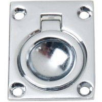 Perko, Chrome Plated Zinc Flush Ring Pull, 0841DP0CHR