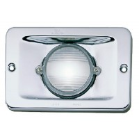 Perko, 12V Chrome Plated Brass Stern Lt Vert Fl Mn, 0939DP112V