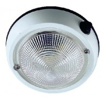 Perko, 4 Exterior Dome Light Wht, 1253DP1WHT