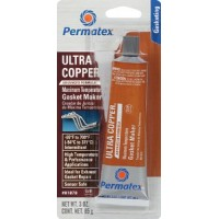 Permatex, Ultra Copper<sup><sup>&Reg;</sup></sup> Hi-Temp RTV Silicone Gasket Maker, 81878