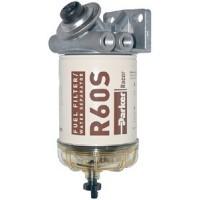 Racor Filters, 400 Series Diesel Spin-On Filter / Water Separator, 460R2