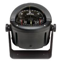 Ritchie, Helmsman Compass Bracket Mt., Combi Dial, Black, HB741