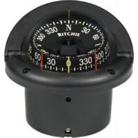 Ritchie, Helmsman Compass-Flush Mt., Combi Dial, Black, HF743