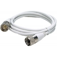 Seachoice, Coax Antenna Cable w/Fittings, 5', 19781