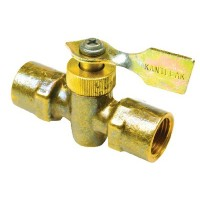 Seachoice, Brass Two Way Fuel Line Valve, 1/4 x 1/4 Female/Female, 20731