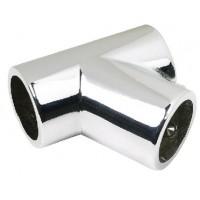 Seachoice, Chrome/Zamak Rail Fitting Tee, 38061