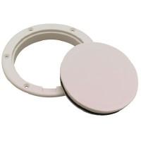 Seachoice, Pry-Up Deck Plate-4 Artic Wht, 39471