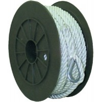 Seachoice, Nylon Anchor Line-Wht-3/8 X50, 40691