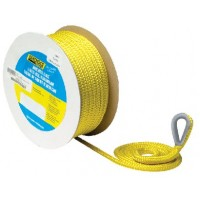 Seachoice, Double Braid Nylon Anchor Line, Gold/White 3/8