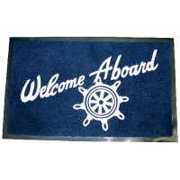 Seachoice, Welcome Aboard Mat, Navy, 78180