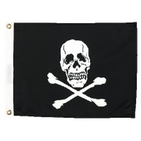 Seachoice, Jolly Roger Flag 12X18, 78251