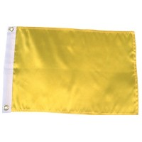 Seachoice, Solid Yellow Flag, 78261