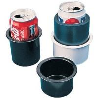Sea Dog, Flush Mt Drink Holder Bk, 588010