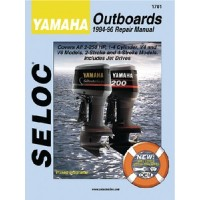 Seloc Manuals, Seloc Marine Tune-Up Manuals, Yamaha 2 Stroke Outboards 2-250 Hp, 1703