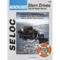 Seloc Manuals, Seloc Marine Tune-Up Manuals, Mercruiser Sterndrive All, 3206
