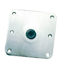 Springfield, 7 x 7 Stainless Kingpin<sup>TM</sup> Deck Base, Bulk, 3620001