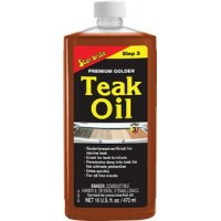 Star Brite, Premium Golden Teak Oil, Gal., 85100