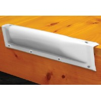 Taylor Made Products, Dock Bumper Straight White 18I, 46082