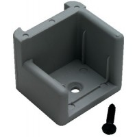 Th Marine, Door Stop Gray W/Ribs Right, DS1RDP