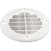 Th Marine, Louvered Vent Cover - Wht, LV1FWDP