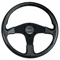Uflex, Corse Steering Wheel, Black PVC Grip, CORSEBB