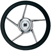 Uflex, Steering Whl-Black Grip SS 5-Spk, V01