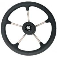 Uflex, Steering Whl-Black Poly 5-Spk, V70B