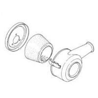 Yanmar, Air intake silencer, 128270-12500
